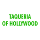 Taqueria of Hollywood Menu