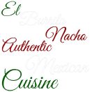 El Burrito Nacho Menu