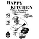 Happy Kitchen Menu