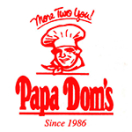 Papa Dom's Pizza Menu
