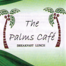 The Palms Café Menu