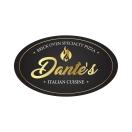 Dante's Italian Cuisine & Brick Oven Specialty Pizza Menu