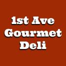 1st Ave Gourmet Deli Menu