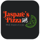 Jaspare's Pizza Menu