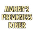 Manny's Preakness Diner Menu