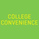 College convenience Menu
