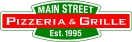 Main Street Pizzeria & Grille Menu