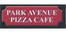 Park Avenue Pizza Cafe Menu