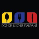 Donde Julio Restaurant Menu