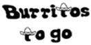 Burritos To Go Menu