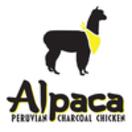 Alpaca Peruvian Charcoal Chicken Menu