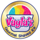 Vayla's Gourmet Shaved Ice Menu