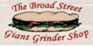 Broad Street Giant Grinder Shop Menu