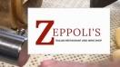Zeppoli's Menu