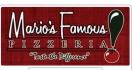 Mario's Famous Pizzeria Menu