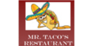 Mr. Taco's Mexican Restaurant Menu