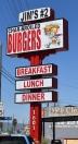 Jim's Burgers 2 Menu