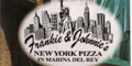 Frankie & Johnnie's New York Pizza Menu