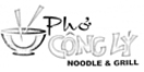 Pho Cong Ly Noodle & Grill Menu