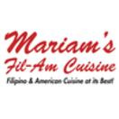 Mariam's Fil-Am Cuisine Menu