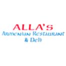 Alla's Mediterranean Armenian Restaurant Menu
