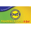 Pasadena Noodle & Grill Menu