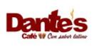 Dantes Cafe Menu