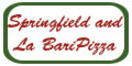Springfield and La Bari Pizza Menu
