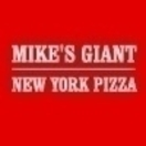 Mike's Giant New York Pizza Menu