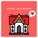Exotic Thai Bistro Menu