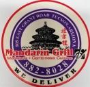 Mandarin Grill Menu