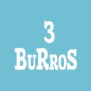 3 Burros Menu