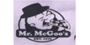 Mc Goo's Pizza Menu