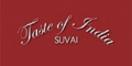 Taste of India Suvai Menu