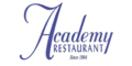 Academy Restaurant Menu