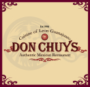 Don Chuy's Mexican Restaurant Menu