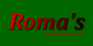 Roma's Italian Restaurant & Pizza Menu