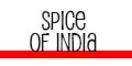 Spice of India Menu