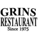 Grins Restaurant Menu