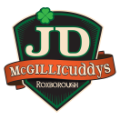J.D. McGillicuddy's Menu