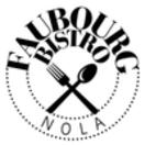 Faubourg Bistro Menu