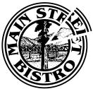 Main Street Bistro Menu