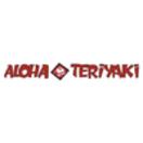 Aloha Teriyaki Menu