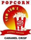 Yum Yum's Gourmet Popcorn Menu