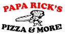 Papa Rick's Pizza Menu