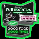 Mecca Supper Club Menu