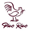 Pico Rico Menu