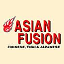 Asian Fusion Menu