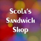 Scola's Sandwich Shop Menu