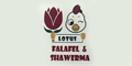 Lotus Falafel & Shawarma Menu